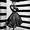 Balenciaga dress, 1952. Photo Philippe Pottier