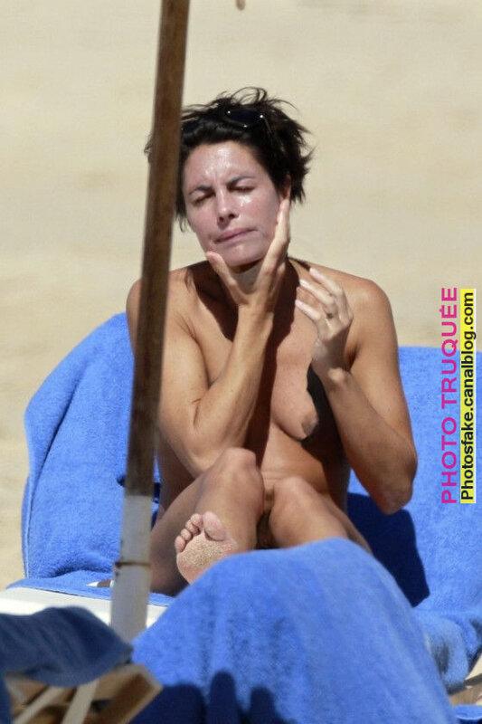 Alessandra Sublet, nue