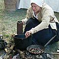 Cuisine en campement