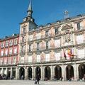 Retour à Madrid, place Mayor