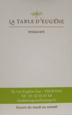 La Table d'Eugène (14)