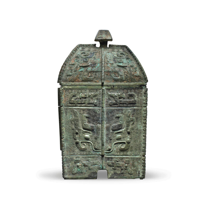 2013_NYR_02689_1126_001(a_rare_finely_cast_bronze_ritual_wine_vessel_and_cover_fangyi_shang_dy)