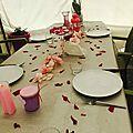 Table pétale
