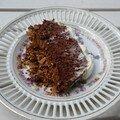 « fondant-croustillant » au chocolat, sans cuisson