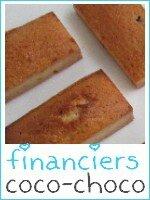 Financiers coco-chocolat - index