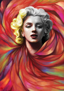 Marilyn_Monroe_Portrait_Illustration_14