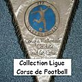 01 - ligue corse de football - album n°232 - fanions