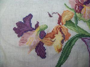 Bouquet d'iris DMC - en-cours (7)