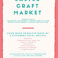 Easter craft market : save the date
