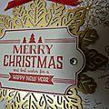 Carte : merry christmas