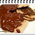 Pancakes aux pommes râpées et noix