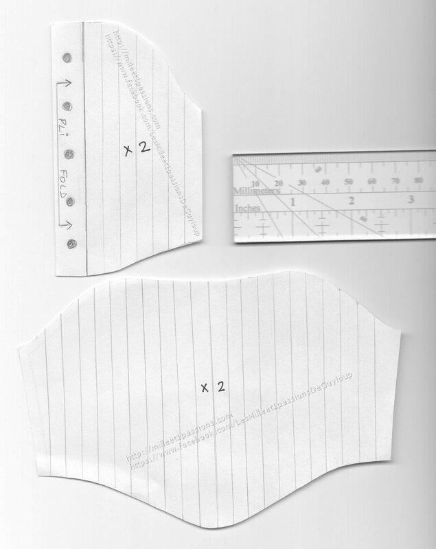 preview corset tissu - fabric