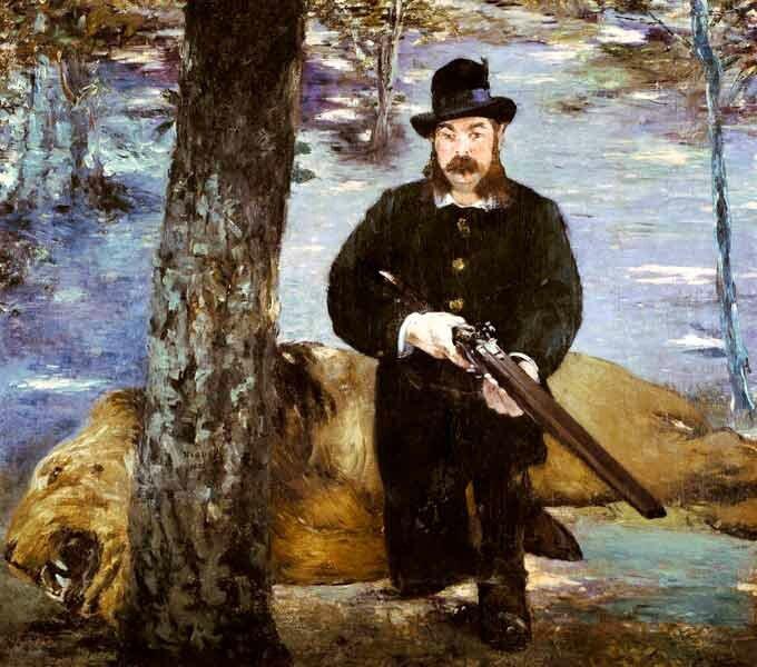 Manet, le portrait de Pertuiset