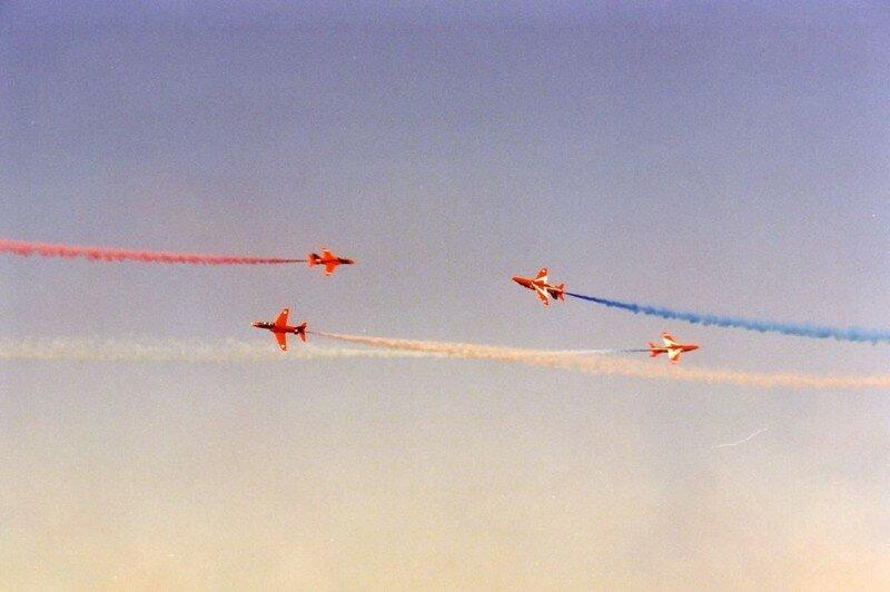 Red Arrows croisement à 4