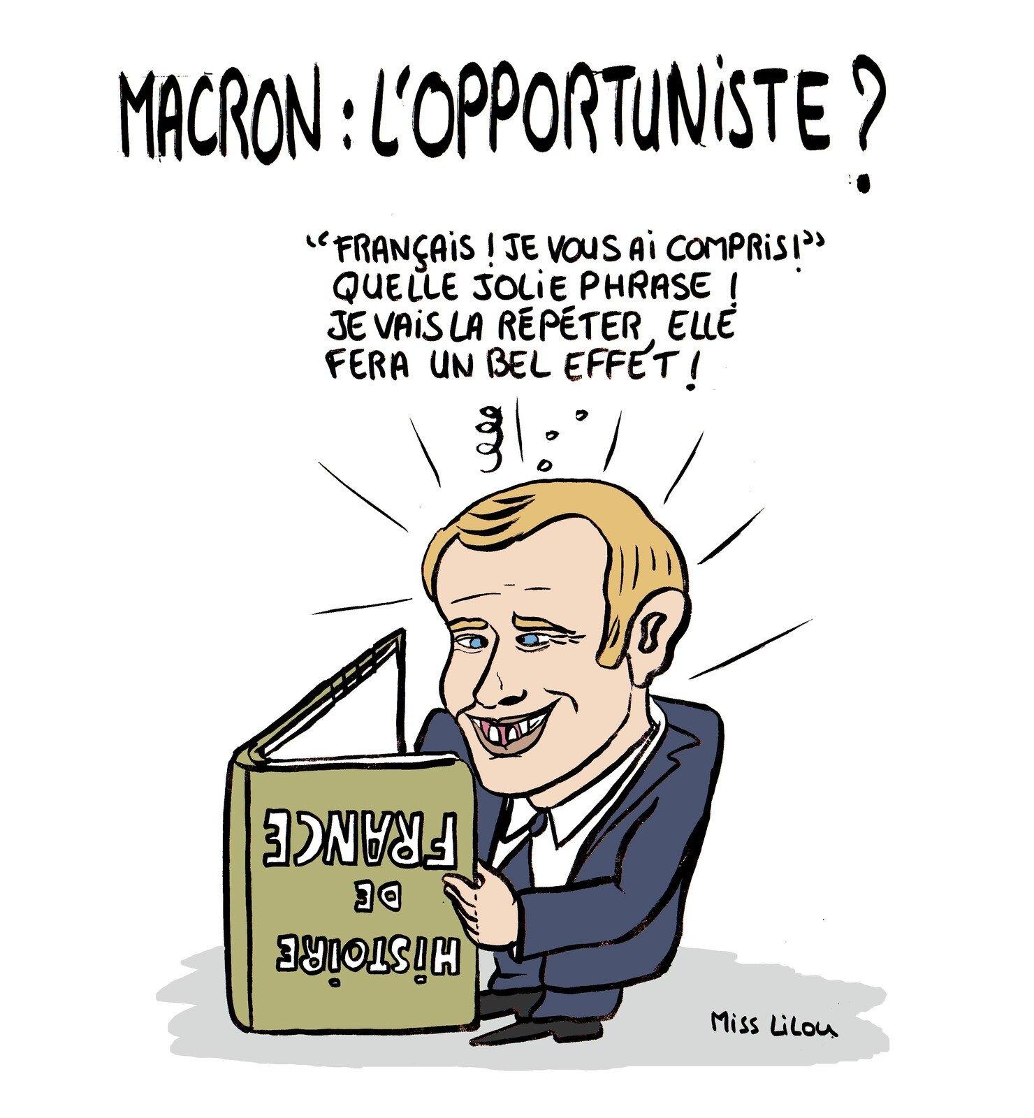 BFMTV a diffusé autant de réunions publiques d'Emmanuel Macron… que de l'ensemble de ses quatre concurrents principaux réunis.