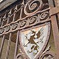 detail grille du porche palestrina