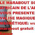 Le marabout sorcier africain de l'argent vous présente la valise magique magnétique: vrai marabout gratuit en france