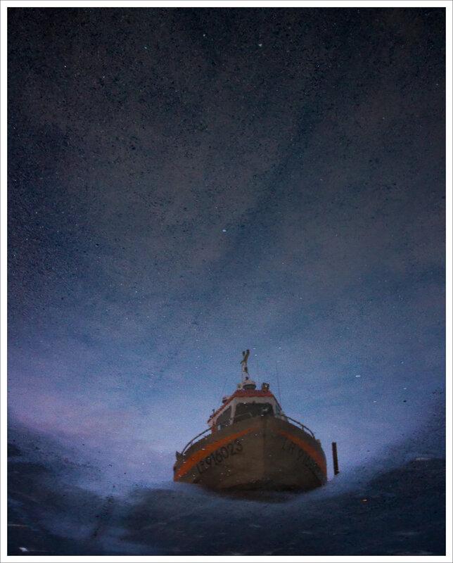 Aiguillon reflet bateau flaque envers 120116