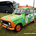 Renault 4TL 6 vitres (507ème)(4L trophy 2011)(5ème Fête Autorétro étang d' Ohnenheim) 01