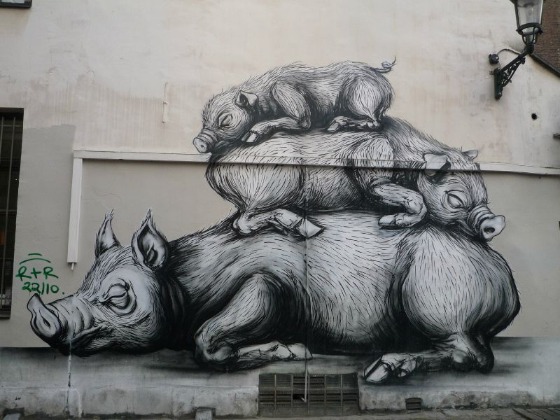 Tas de cochons! -2 Roa