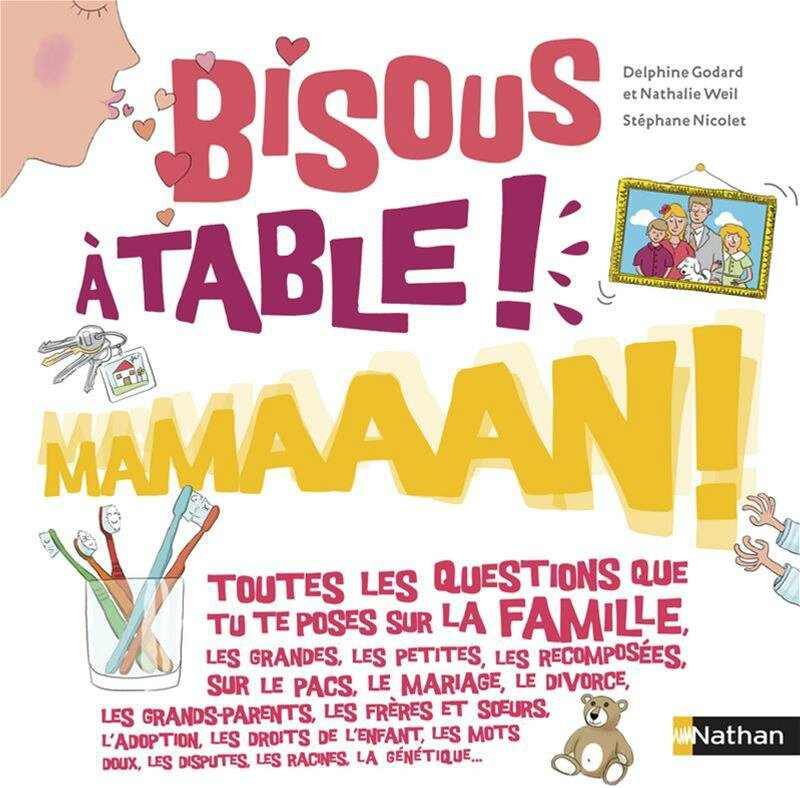 bisous a table