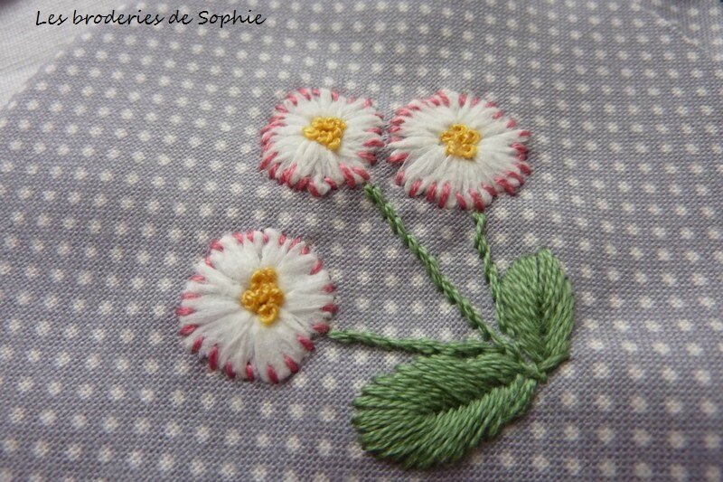 Broches brodées (10)