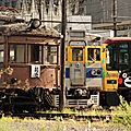 Kumamoto Dentetsu very old to very new trains !