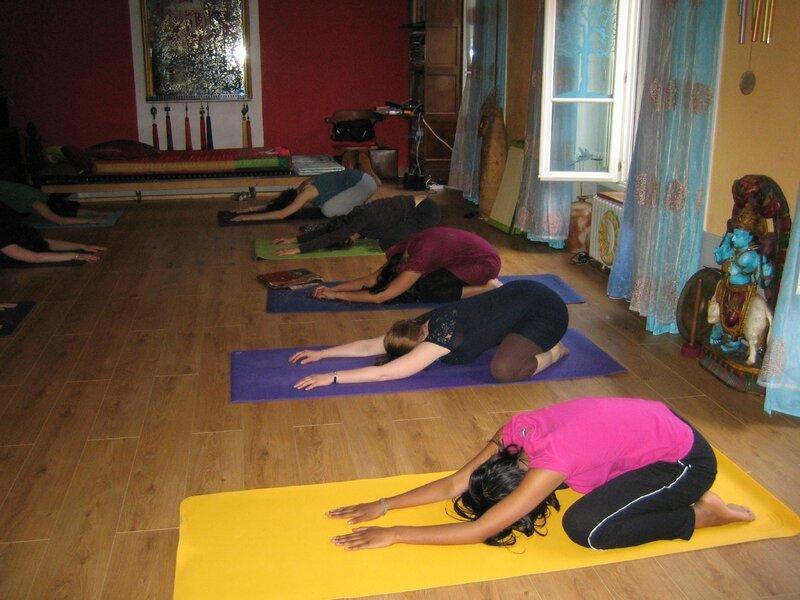 Yoga espace Du Aime