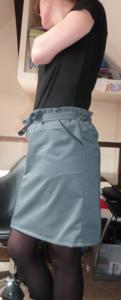 The grey skirt 3