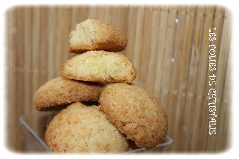 Biscuits noix de coco 2