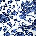 A fine and superbly painted blue and white 'Dragon' vase, Mark and period of Yongzheng (detail) 2
