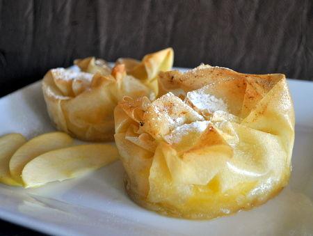 Croustades Aux Pommes La Cuisine De Karinette