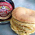 Pancakes au sirop d'érable... presque comme au canada !