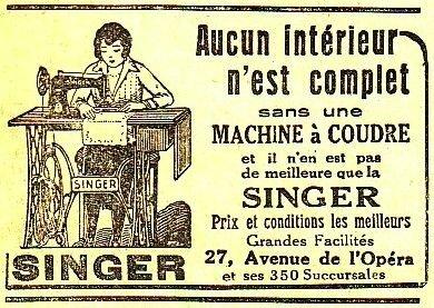 Machines à coudre (1)
