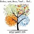 Belle annee 2014...