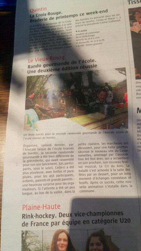 article_télégramme