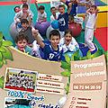 Les stages d'ete du judo club villeneuvois