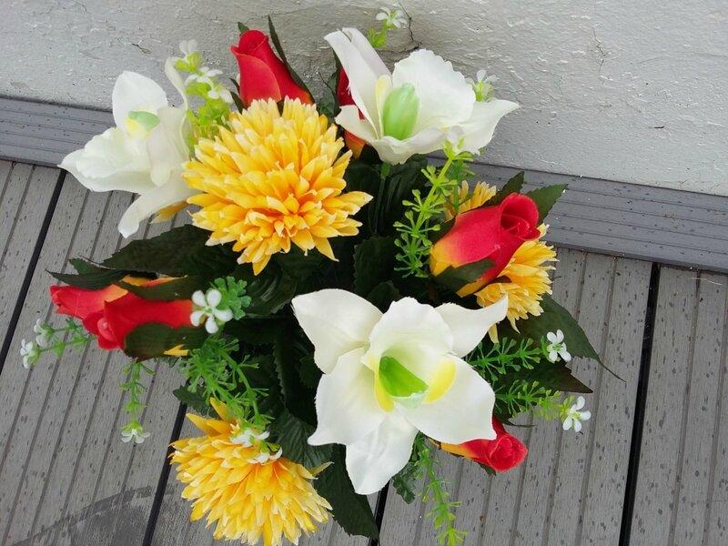 fleurs artificielles 078