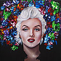 Art - marilyn par estelle barbet