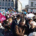 2 février 2014, manif pour tous à lyon