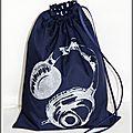sac marine paillette