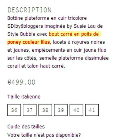 description poils de poney