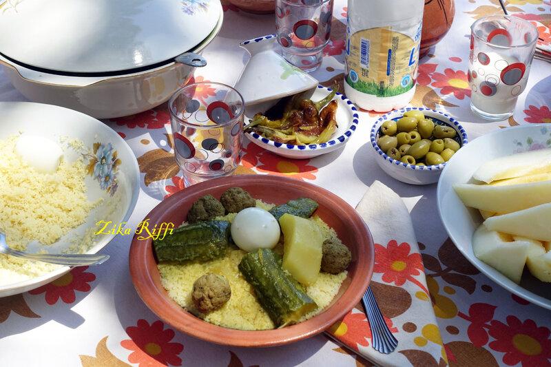 couscous improvisé boulettes1