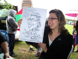 Caricature en direct BOURSIER 5
