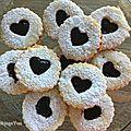 Biscuits Linzer Framboise 1
