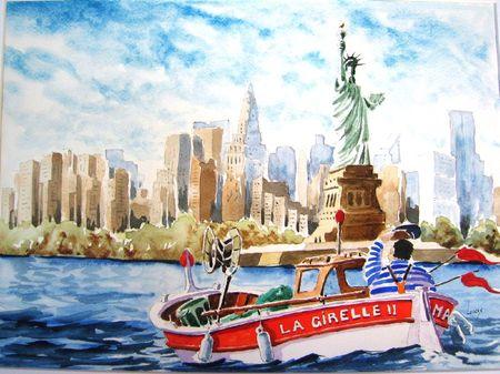 Un Marseillais à New York 40x50