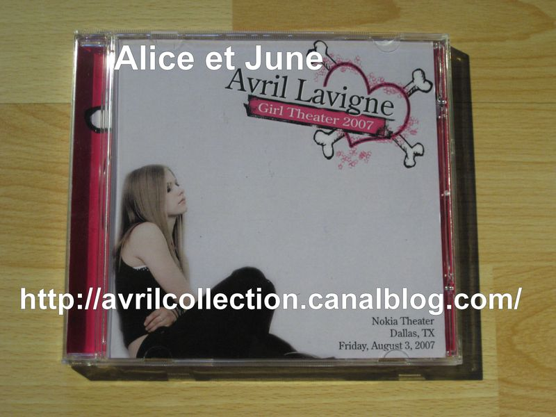 CD Avril Lavigne Girl Theatre 2007