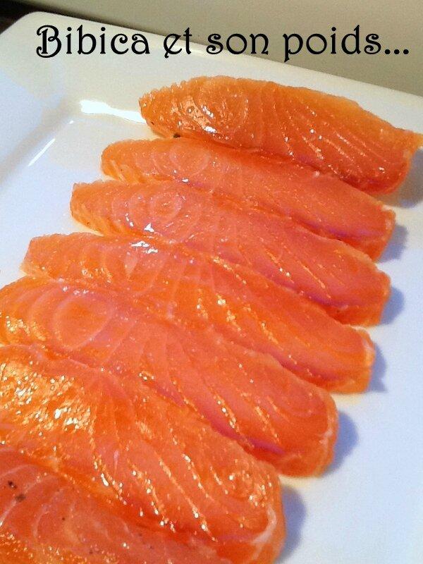 Tartare de saumon au poivre Timut du Népal préparation 3