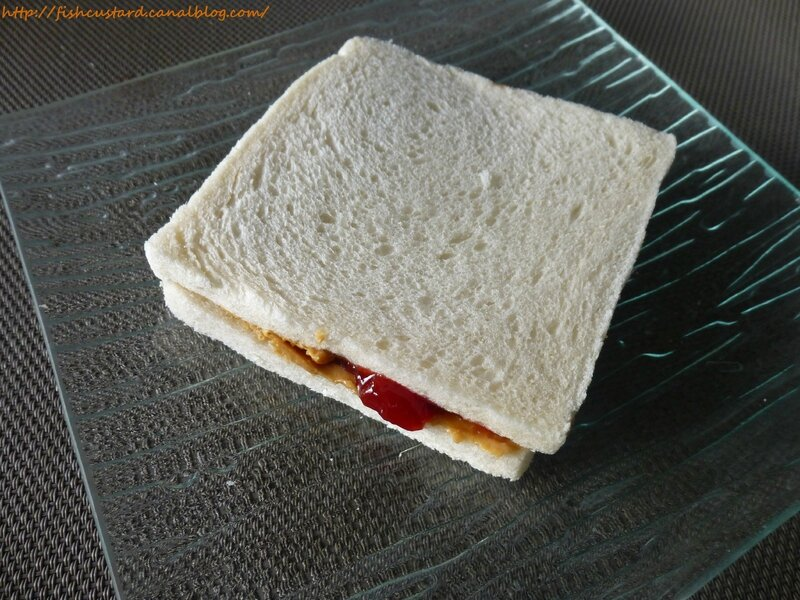 Jelly and peanut butter sandwich (8)