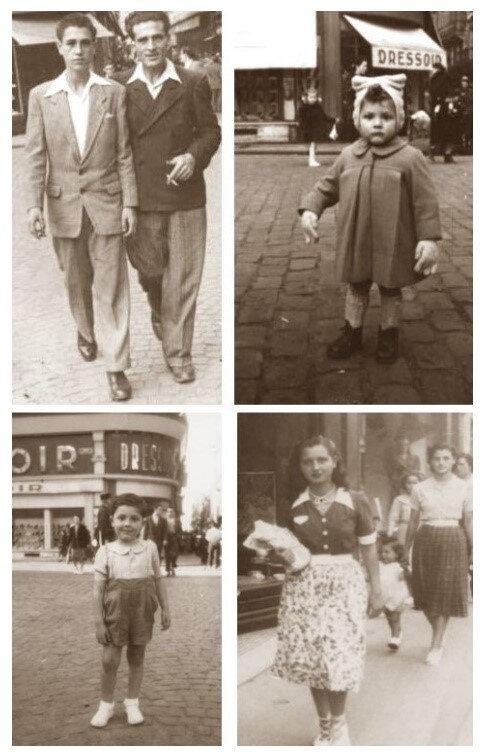 montage album photo famille